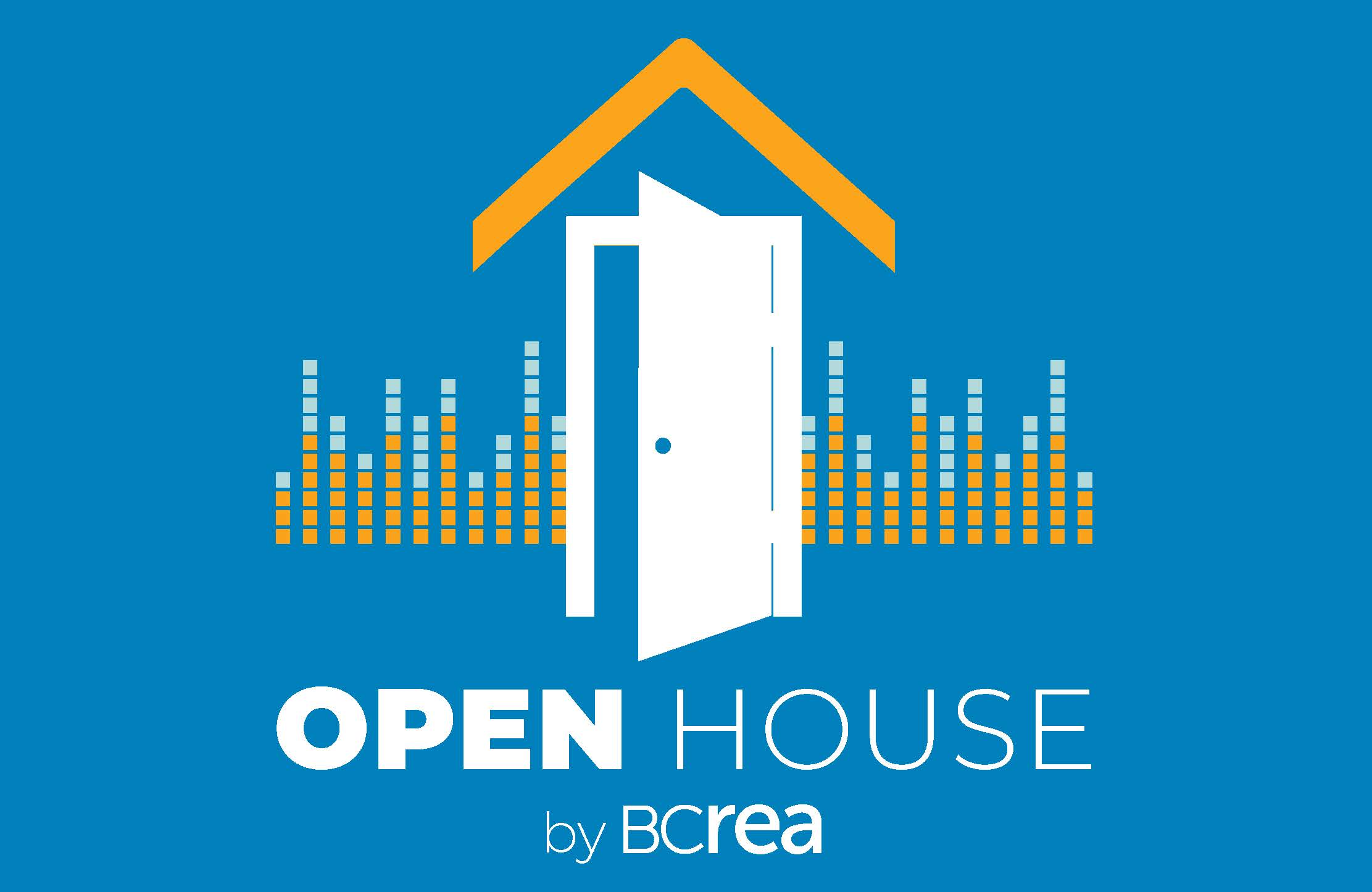 Open House by BCREA logo