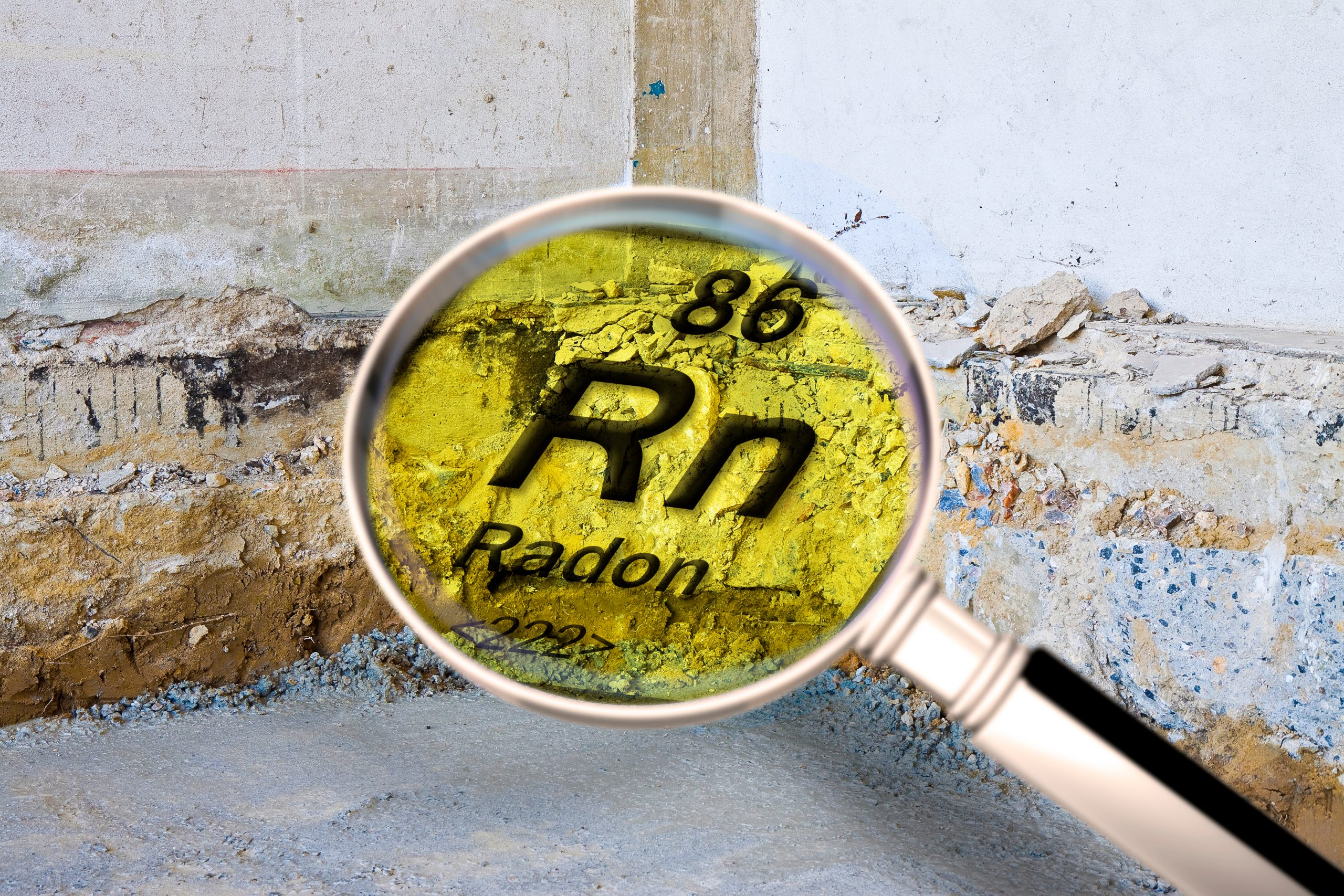 Radon gas can be found in homes in BC and can be hazardous in large amounts